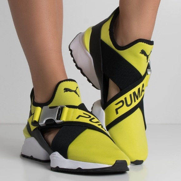29b8017a01f0 Puma Muse Cutout Shoes